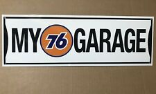 My 76 Union Gasoline Racing Team  Garage Reproduction  Decor Sign
