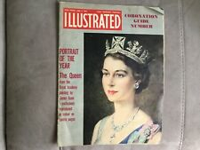 Vintage magazine 'Illustrated' - June 1953 Queen's Coronation Guide edition