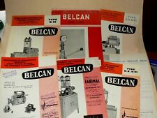 Catalogue Outils Outillage Station Service Pompe Injection BELCAN Tools Auto