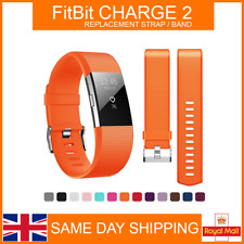 For FitBit CHARGE 2 Fitness Tracker Replacement Strap Sports Bracelet Band UK