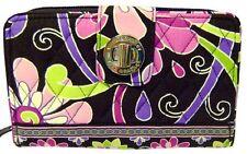 Vera Bradley Purple PunchTurnlock Wallet -- NWT