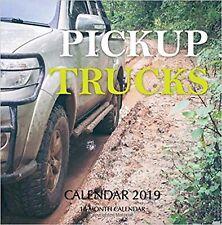 Pickup Trucks Calendar 2019: 16 Month Calendar New Book
