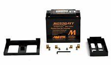 Motobatt MBTX20UHD Gel Motorcycle Battery Replacement for YTX20-BS