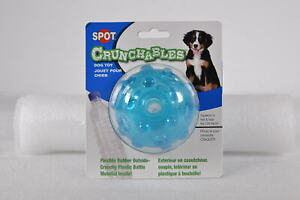 Spot Crunchable Ball, Durability of Rubber & Water bottle, Colors may Vary