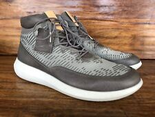 Unworn Mens Ecco Scinapse Yak Leather Fashion Sneakers Size EU 43 US 10