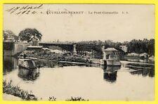cpa Rare 92 - LEVALLOIS PERRET (Hauts de Seine) Le PONT CORMEILLE