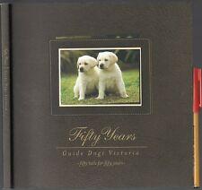 113pg GUIDE DOGS VICTORIA Seeing Eye Dogs For the BLIND Memorial Handbook EC