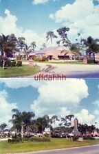 RAINBOW DRIVE MOTEL on Lake Lena AUBURNDALE, FL. Mr & Mrs G D Chandler 1964