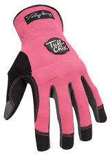 Ironclad Pink Womens Small Synthetic Leather Work Gloves