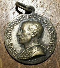 MEDAILLE VATICAN  PIUS XII PONTIFEX MAXIMUS PAR MISTRUZZI (230)