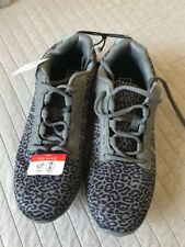 Size 10 Grey Black Animal Print Lightweight Running Shoes Trainers Sneakers