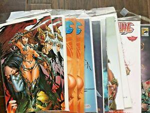 14 very *RARE* WITCHBLADE comics, incl. Tan Lines, Red Bikini, Starlet