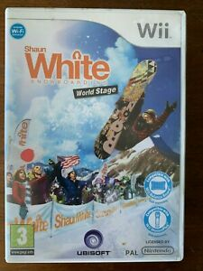 Shaun White Snowboarding World Stage for Wii Nintendo Snowboard Game