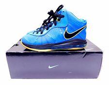 Nike Lebron 8 v/2 - Photo Blue Black Yellow - 424676-401 - Size 8.5 - INV#12