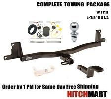 """TRAILER HITCH PACKAGE w 1 7/8"""" BALL FOR 2007-2011 TOYOTA YARIS 4 DR SEDAN  60209"""