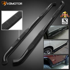 """For 07-18 Toyota Tundra Double Cab Black 3"""" S/S Side Step Bars Running Boards"""
