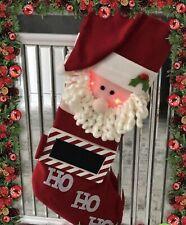 Extra Large Light Up Personalised Christmas Stocking