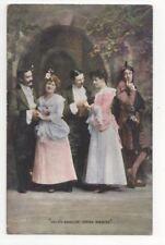 Dale's English Opera Singers Vintage Postcard 770b
