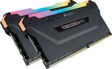 Corsair Vengeance RGB PRO 16GB 2x8GB DDR4 3000MHz C15 LED Desktop Memory - Black