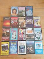audio music cassette tapes bundle joblot x 18 as pictured mct16