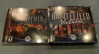 Battlefield 1942+Vietnam Redux Expansion PC Computer CD EA Video Game w/Case+Key