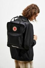 Fjallraven Kanken Big Backpack Black Oversized School Book Bag Unisex New