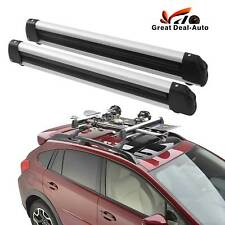 Alloy Fishing Rods Carrier Holder Roof Rack Mounted Lockable 78cm fitting kit