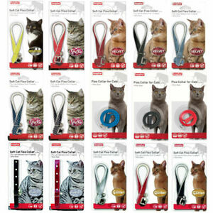 Beaphar Cat & Kitten Flea Collars - Kills & Prevents Fleas Adjustable with Bell