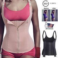 Fajas Reductoras Colombianas Slimming Body Shaper Vest Top Waist Trainer Cincher