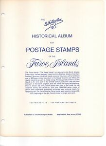 Whiteace Faroe Islands Pages 1975-1995 Used, Excellent Condition, 41 pages.