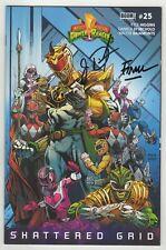 Mighty Morphin Power Rangers (2016) #25 Variant Signed X2 Jason David Frank NM