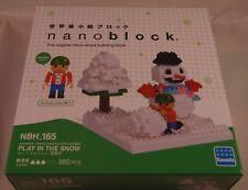 Kawada Nanoblock PLAY IN THE SNOW JAPAN building toy block  NBH_165 Worldwide