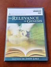 The Relevance of Genesis Dr. Jason Lisle Answers in Genesis LIKE NEW DVD