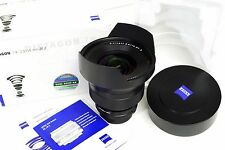 Zeiss 15mm f2.8 ZF.2 T* Distagon Ultra Wide Angle Lens f/Nikon SLR Boxed Mint