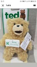 """TALKING TED THE MOVIE 6""""  SOFT TOY ADULTS ONLY X RATED TOY  NEW WITH TAGS clip"""