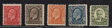 Canada stamp collection 1931 - 1932 mint mounted to 8c value