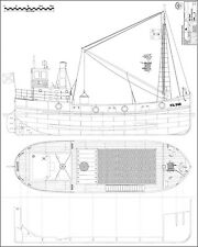 VITAL SPARK. Puffer Bauplan m 1:25 Paul Stamm Modellbau Archiv