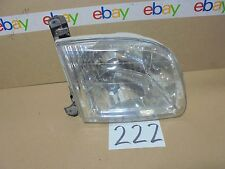 01 02 03 04 Toyota Sequoia PASSENGER Side Headlight Used Front Lamp #222-H