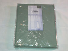 JC Penney Home Grommet Curtain Panel - Holden Aqua Gray