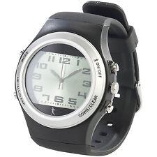 Sport-Armbanduhr mit Schrittzähler, 3D-Sensor, nachleuchtenden Zeigern