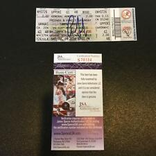 Aaron Judge Pre Rookie Signed New York Yankees Minor League Ticket With JSA COA