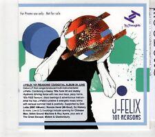 (GT387) J-Felix, 101 Reasons - 2015 DJ CD