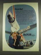 1978 McDonnell Douglas DC-10 Jet Ad - Great Day!