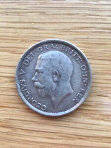 1919 George V Silver Half-crown