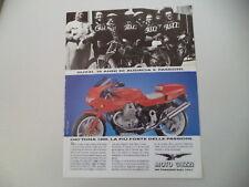 advertising Pubblicità 1992 MOTO GUZZI DAYTONA 1000