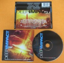CD SOUNDTRACK DEEP IMPACT James Horner 1998 SONY MUSIC SK 60690 no mc lp (OST6)