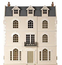 Large Luxury Georgian Dolls House MDF Flat Pack Unpainted Kit 1:12 Scale MJ19