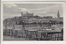 AK Bratislava, Pressburg, Stadt vom Aucafe, 1935