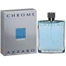 PROFUMO UOMO AZZARO CHROME 200 ML EDT 6,8 OZ 200ML POUR HOMME EAU TOILETTE