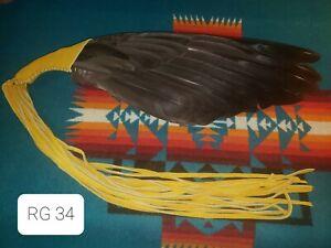 Native American Style Wing Fan, Pow Wow, Regalia, RG 34